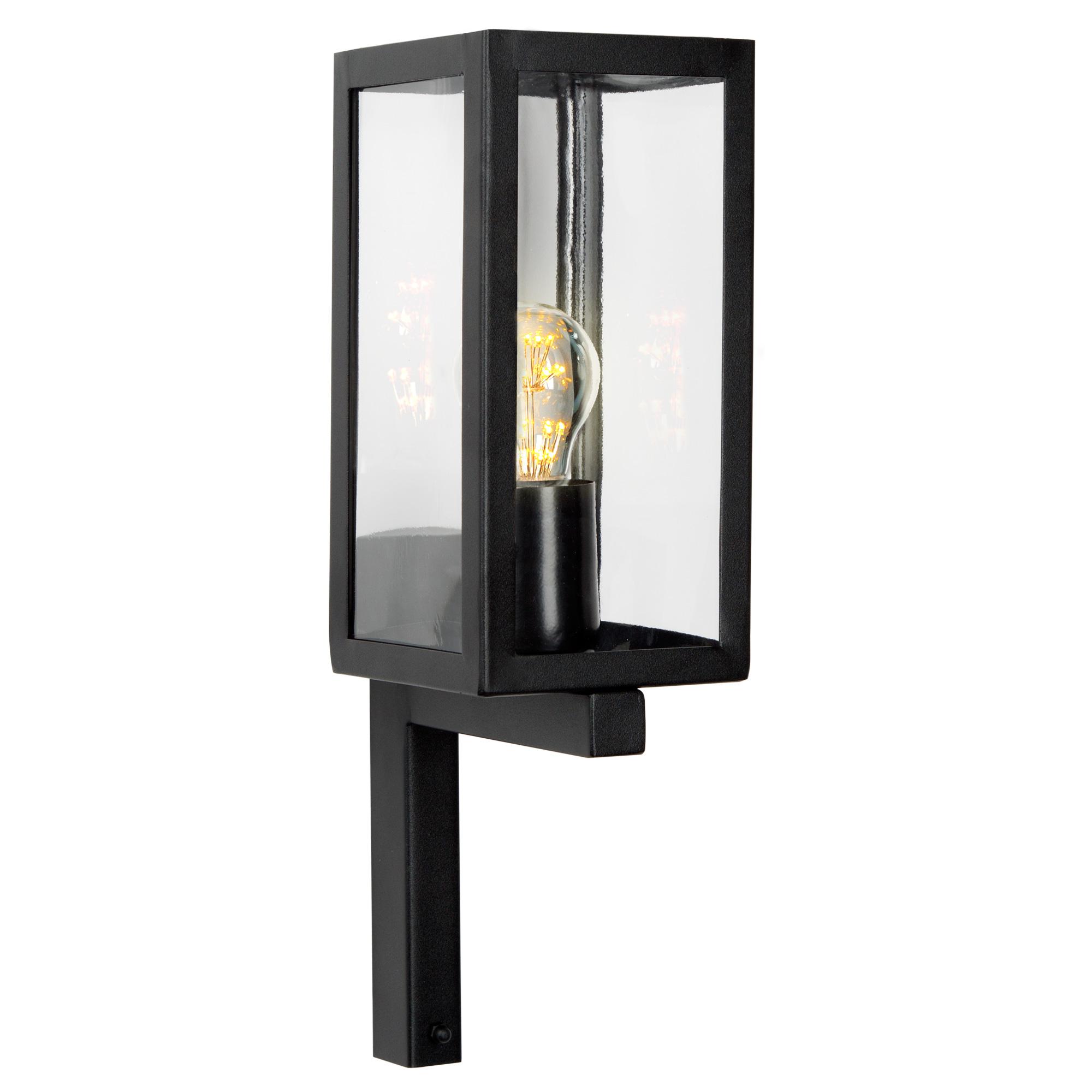 Buitenlamp Huizen Wandlamp Zwart