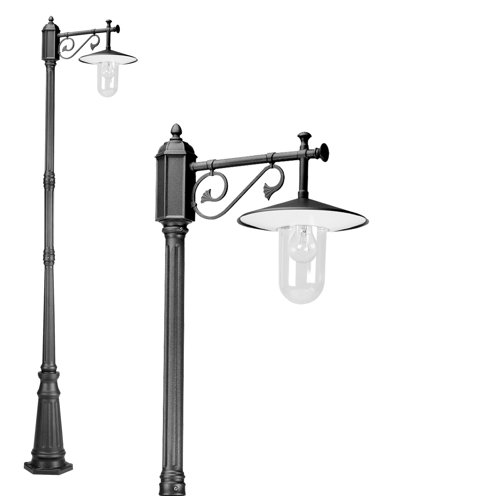 Louvre lantaarn 1-lichts