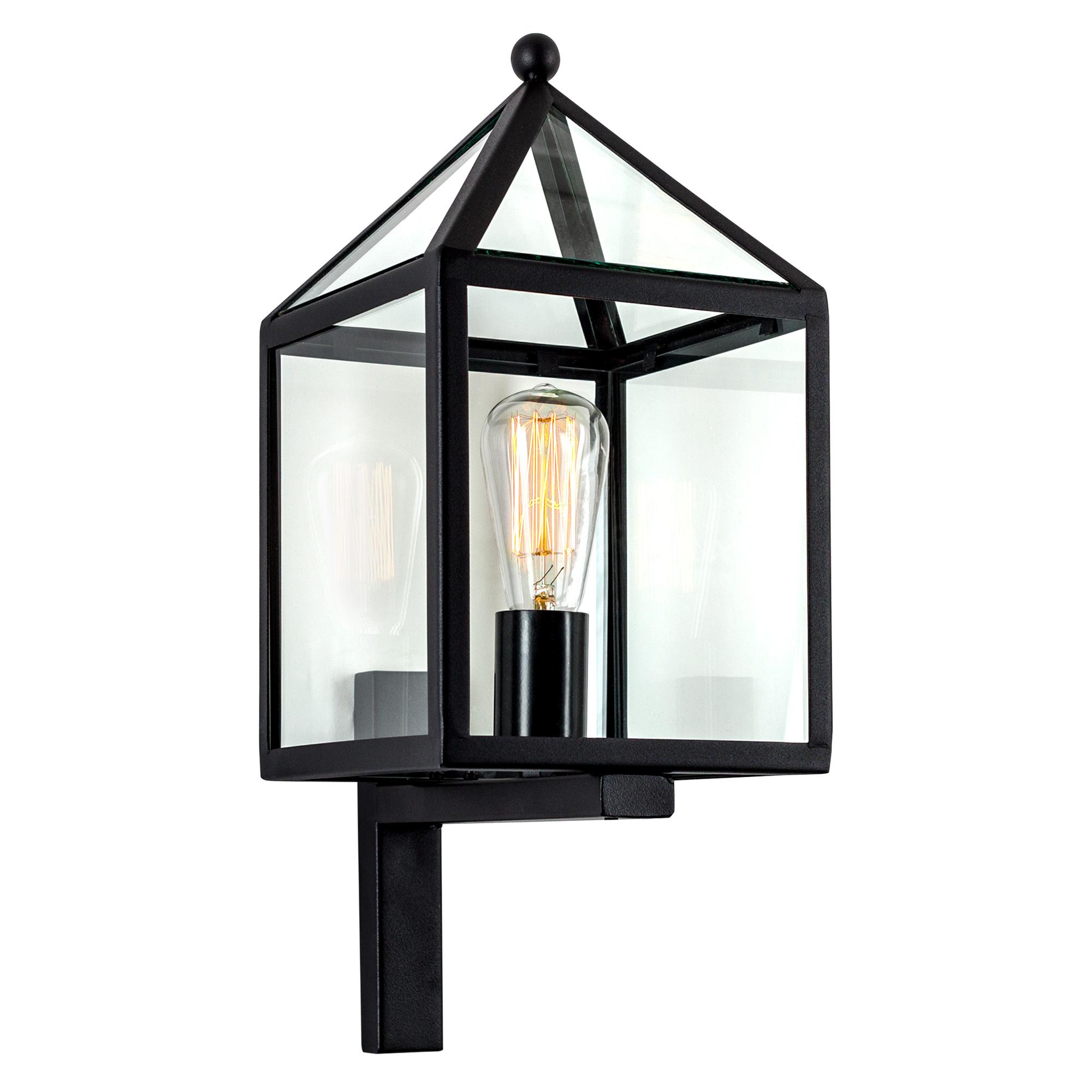Buitenlamp Bloemendaal Zwart