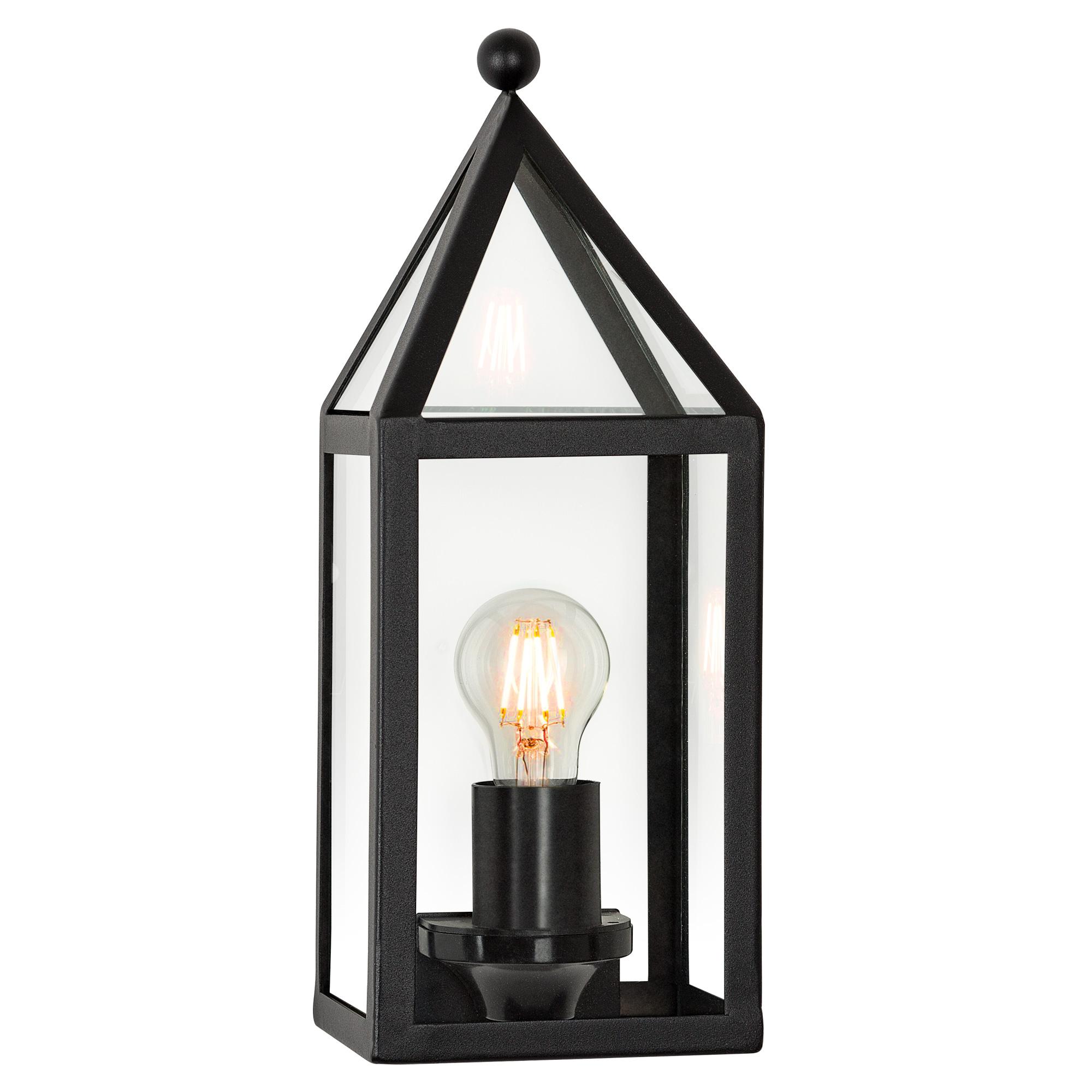 Buitenlamp Muiden Zwart Wandlamp Plat