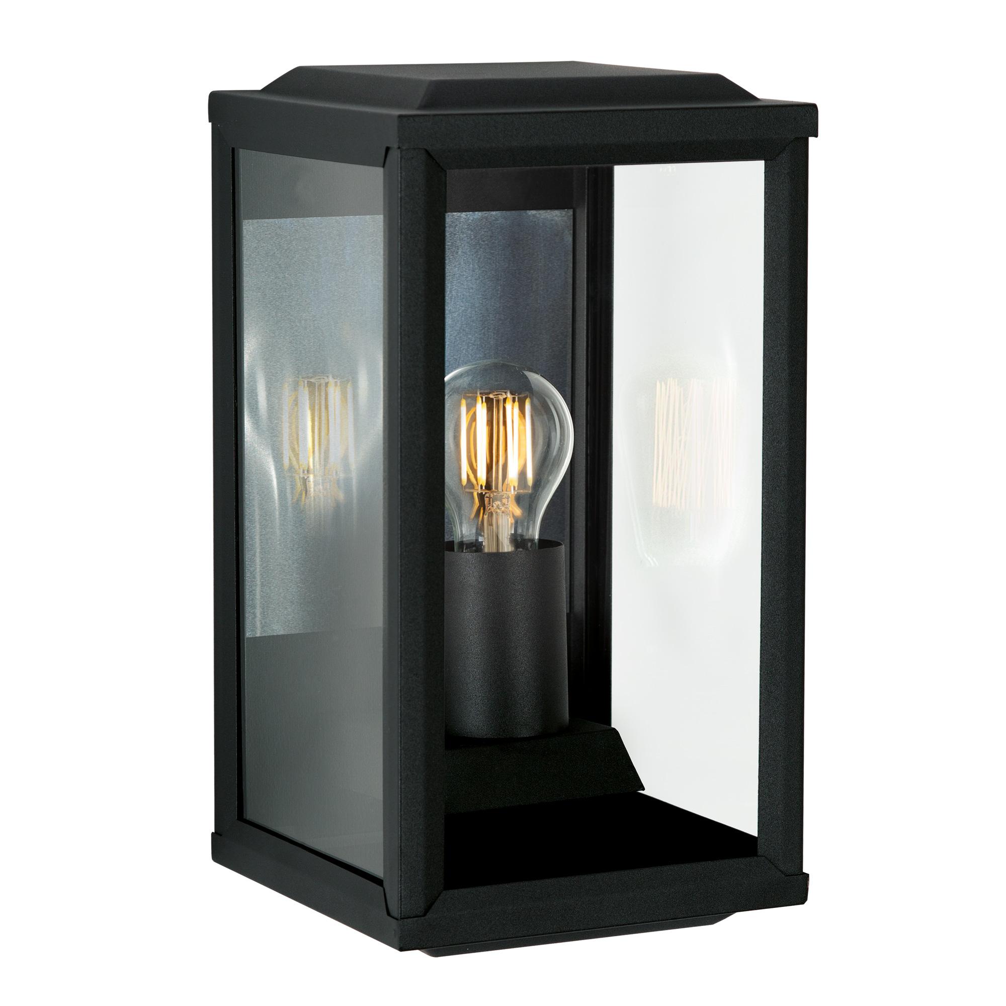 Buitenlamp apos t Gooi Zwart Wandlamp Plat Large