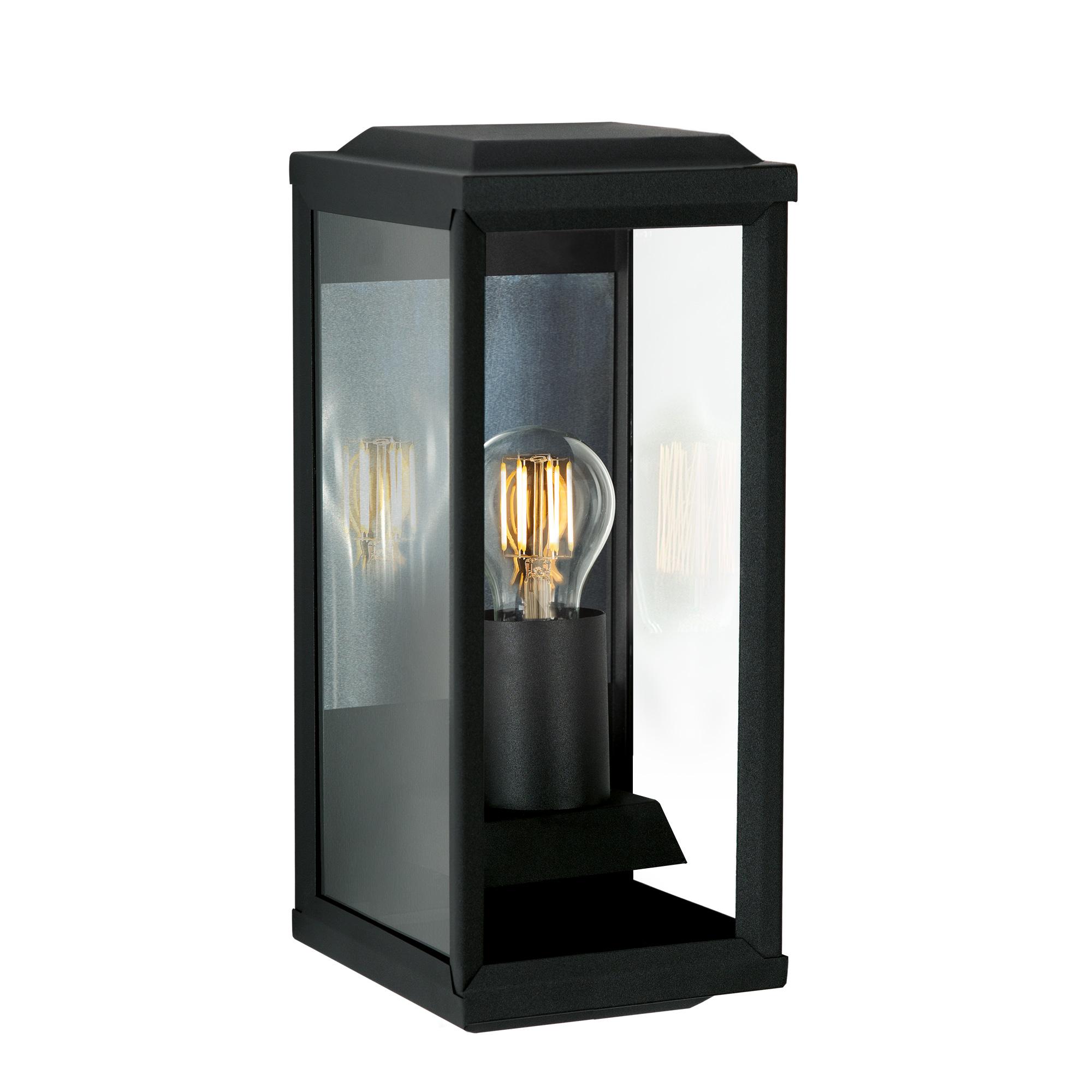 Buitenlamp apos t Gooi Zwart Wandlamp Plat Medium