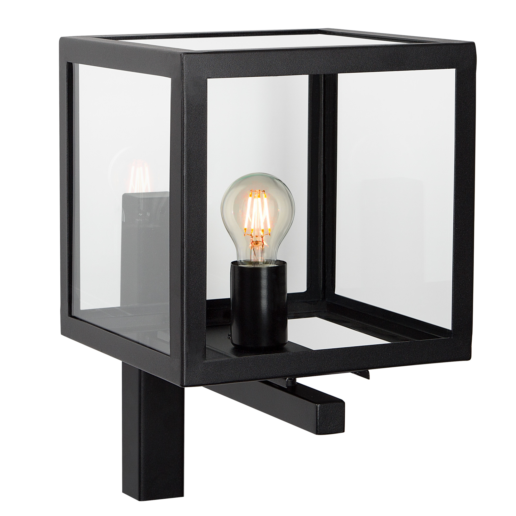 Buitenlamp Loosdrecht Zwart