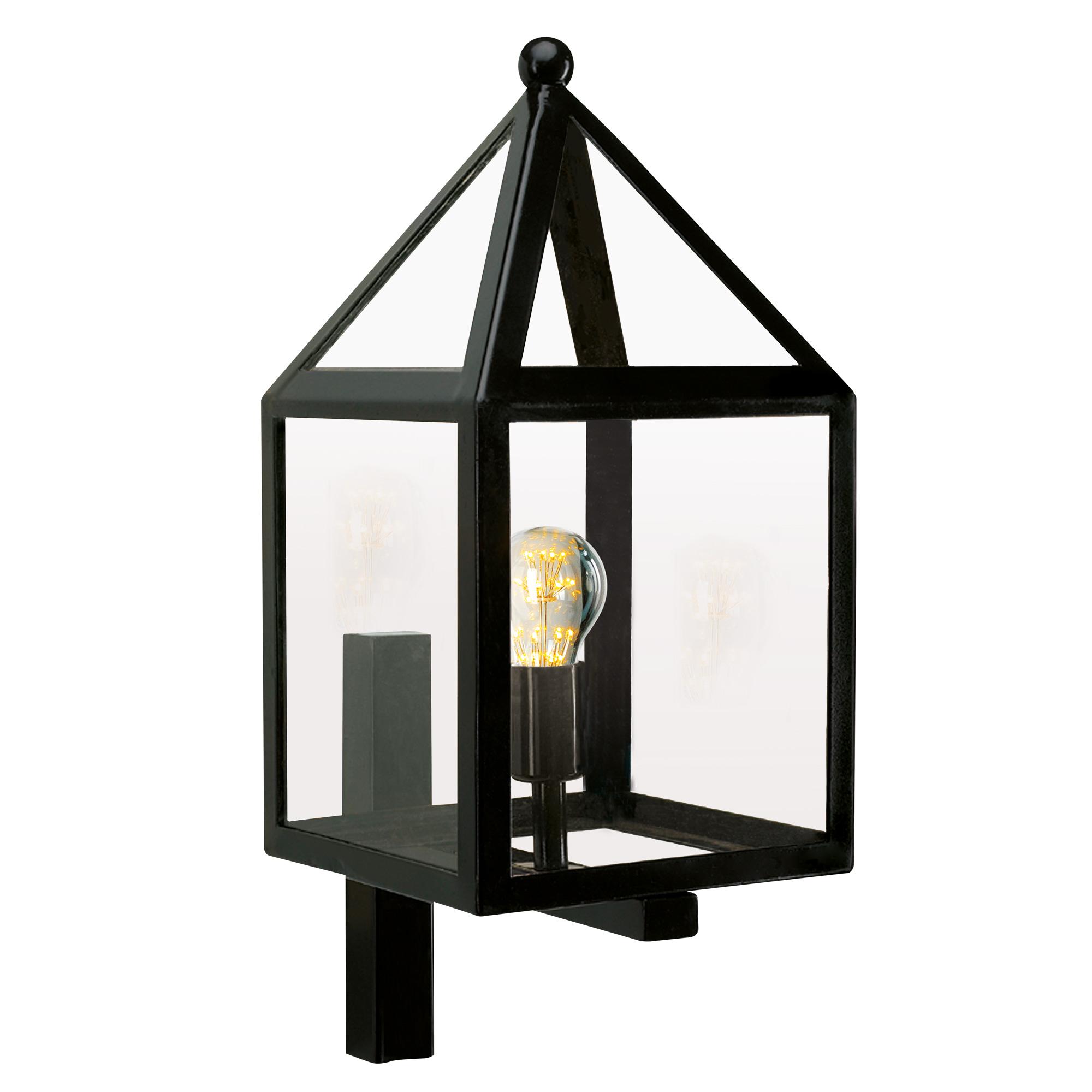 Buitenlamp Leusden Zwart