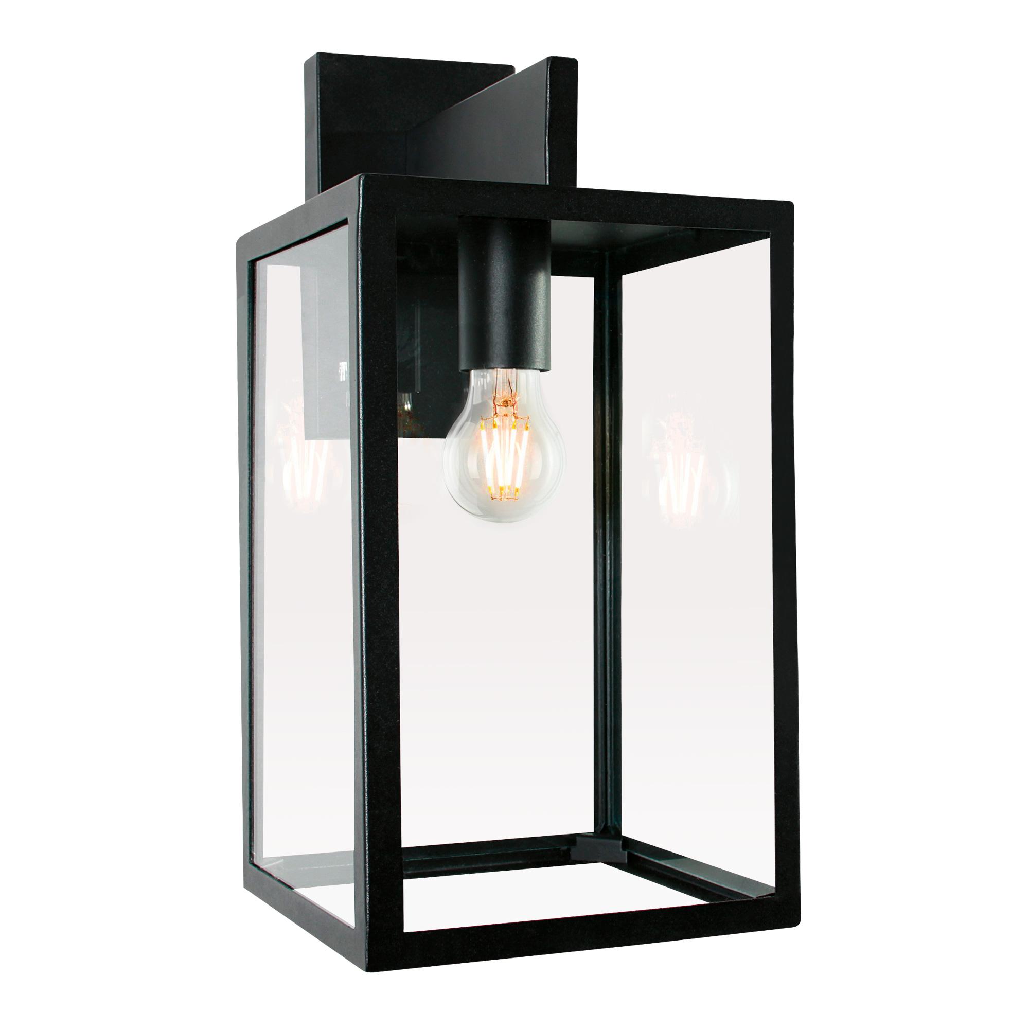 Buitenlamp Hampton Zwart