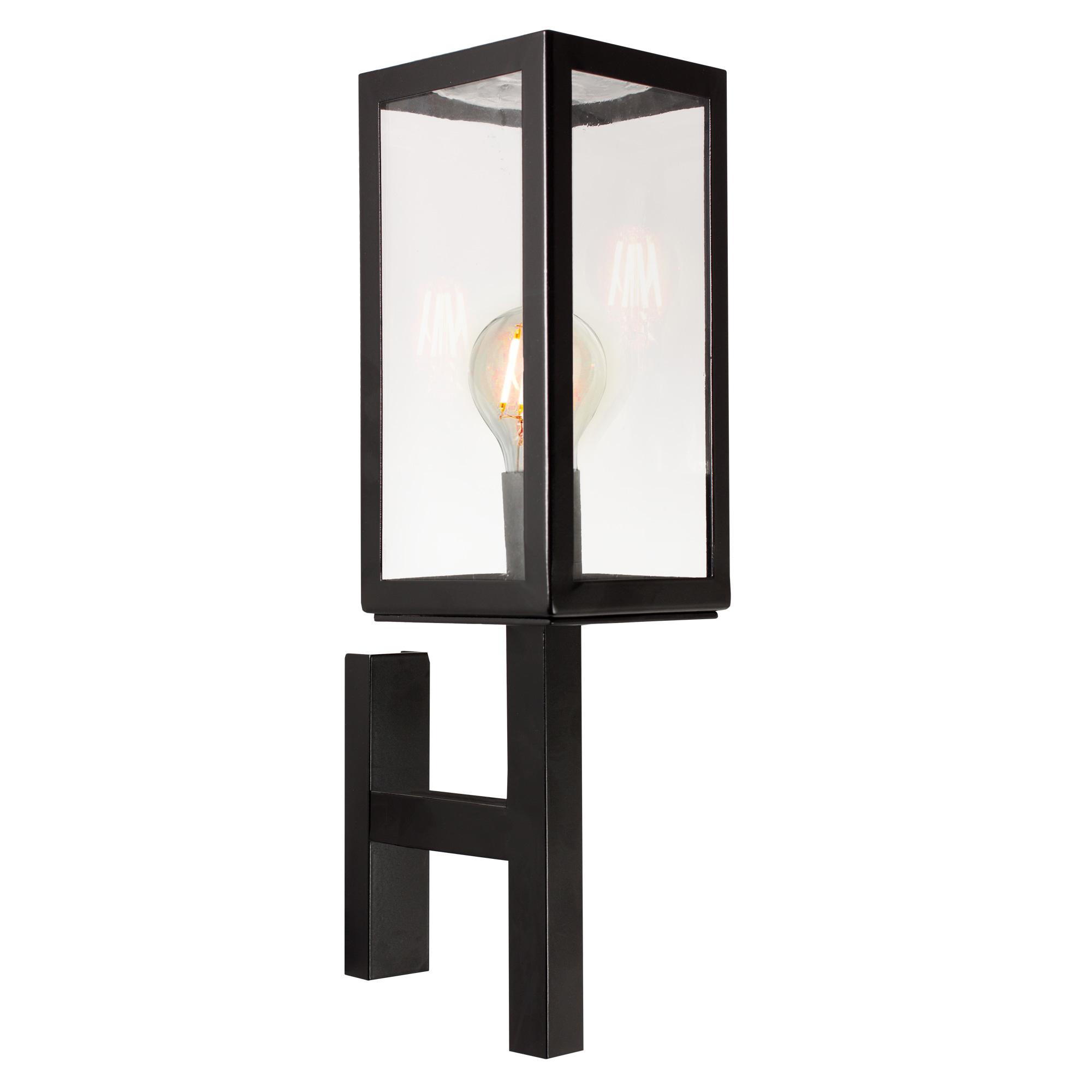 Buitenlamp Bilthoven Muurlamp Zwart