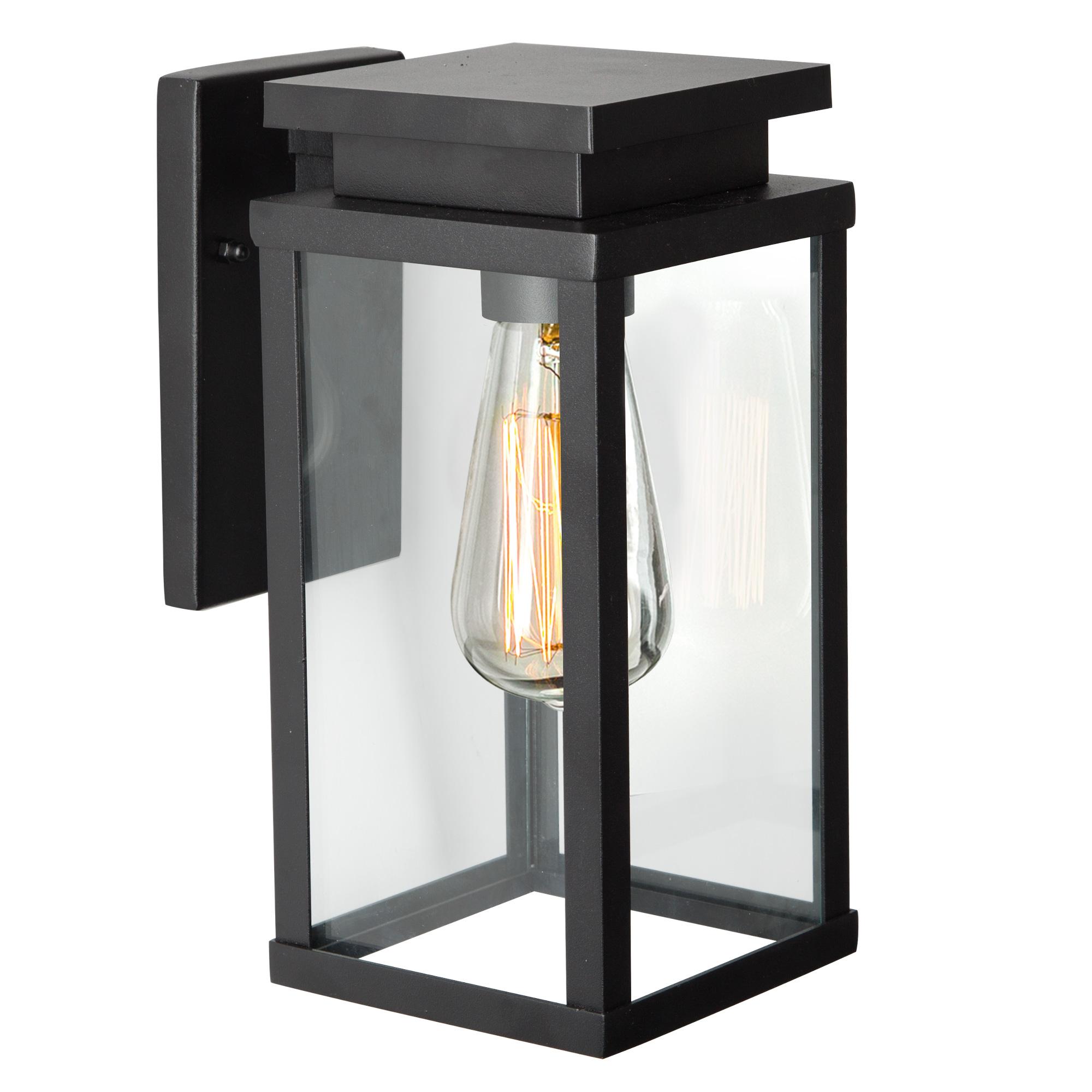 Buitenlamp Jersey Zwart Large Wandlamp