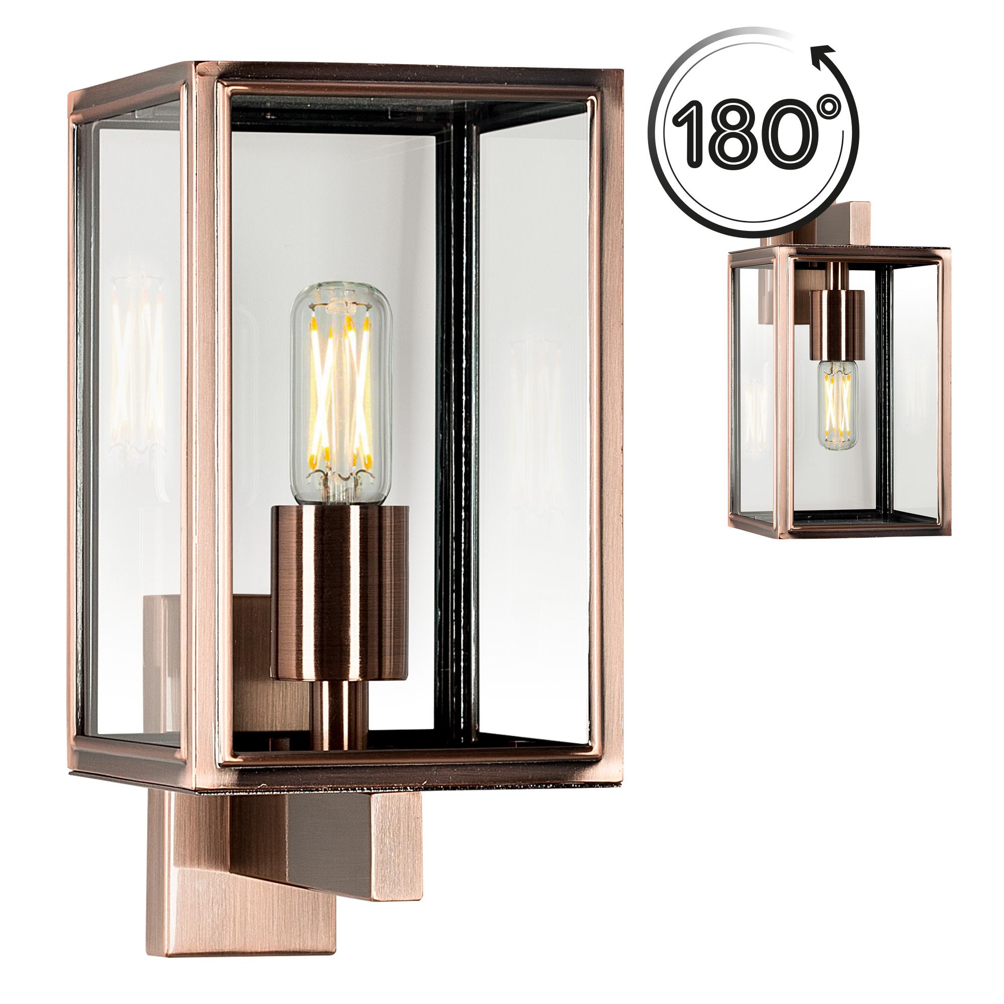 Buitenlamp Soho Copper Look