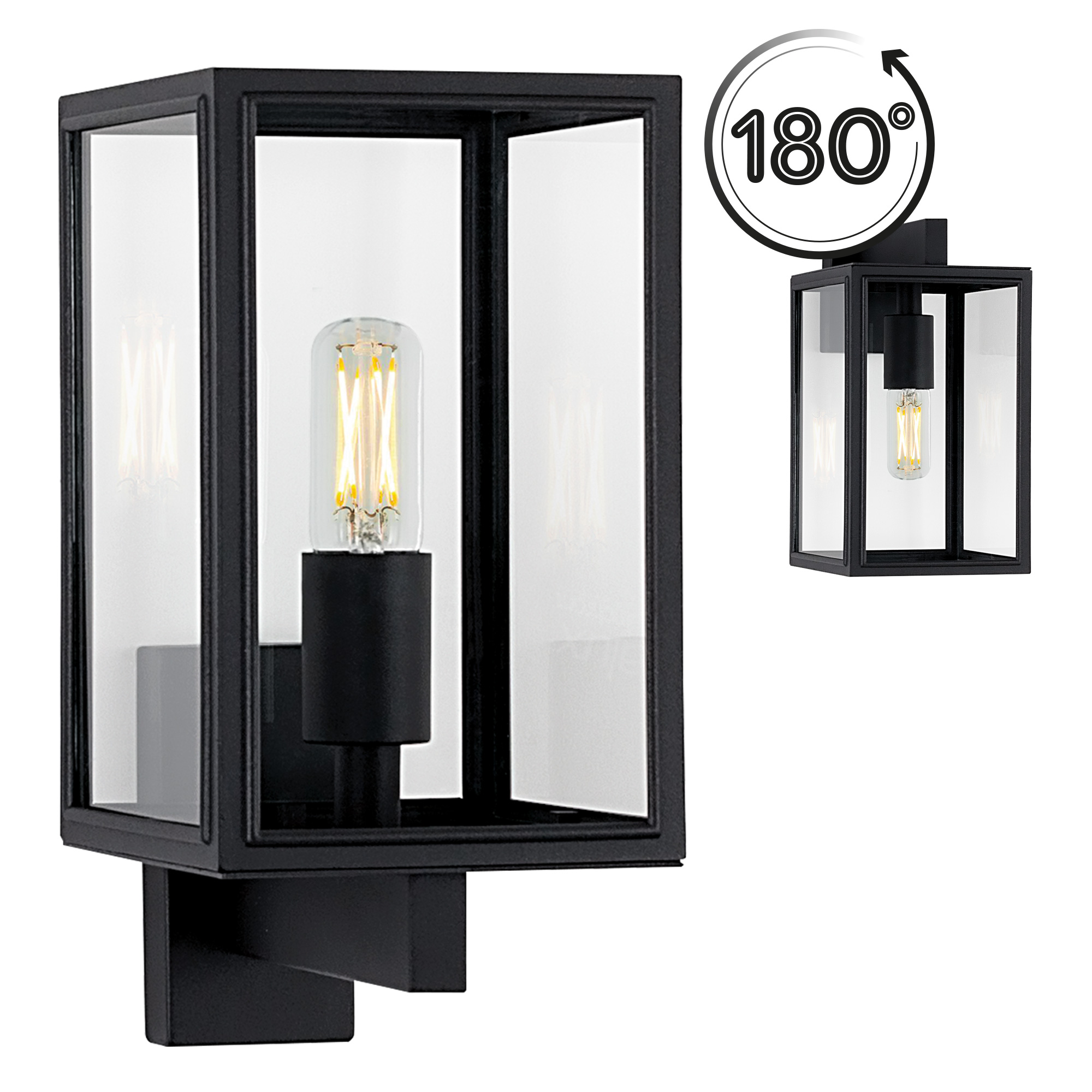 Buitenlamp Soho Zwart
