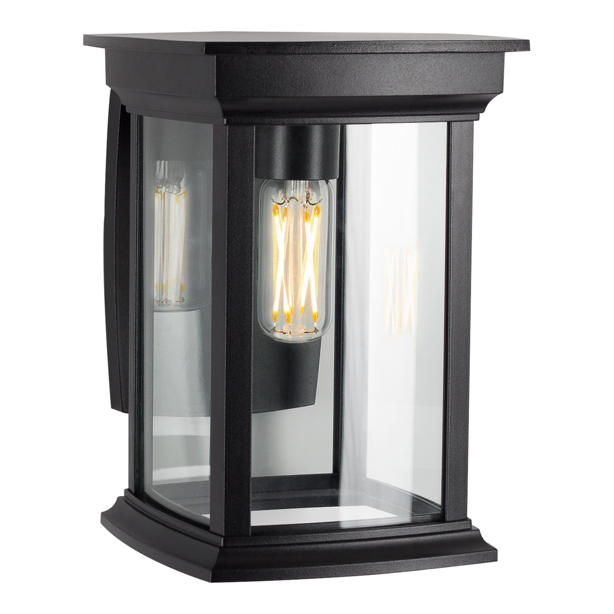Carlton buitenlamp met dag/nacht sensor LED