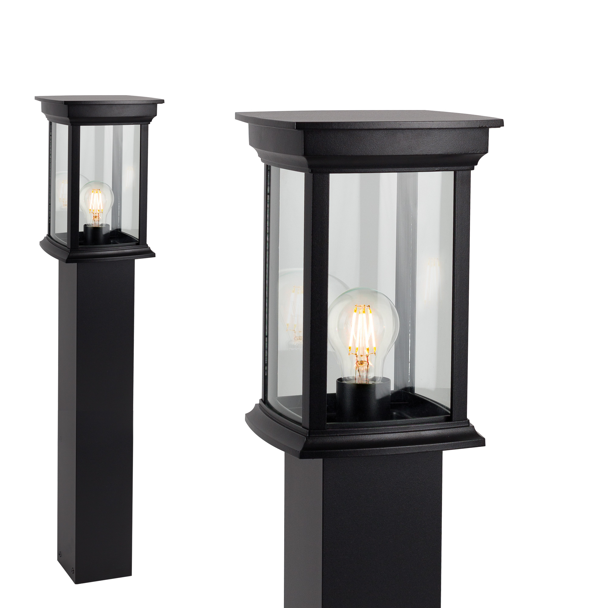 Buitenlamp Staand Zwart Carlton Terras