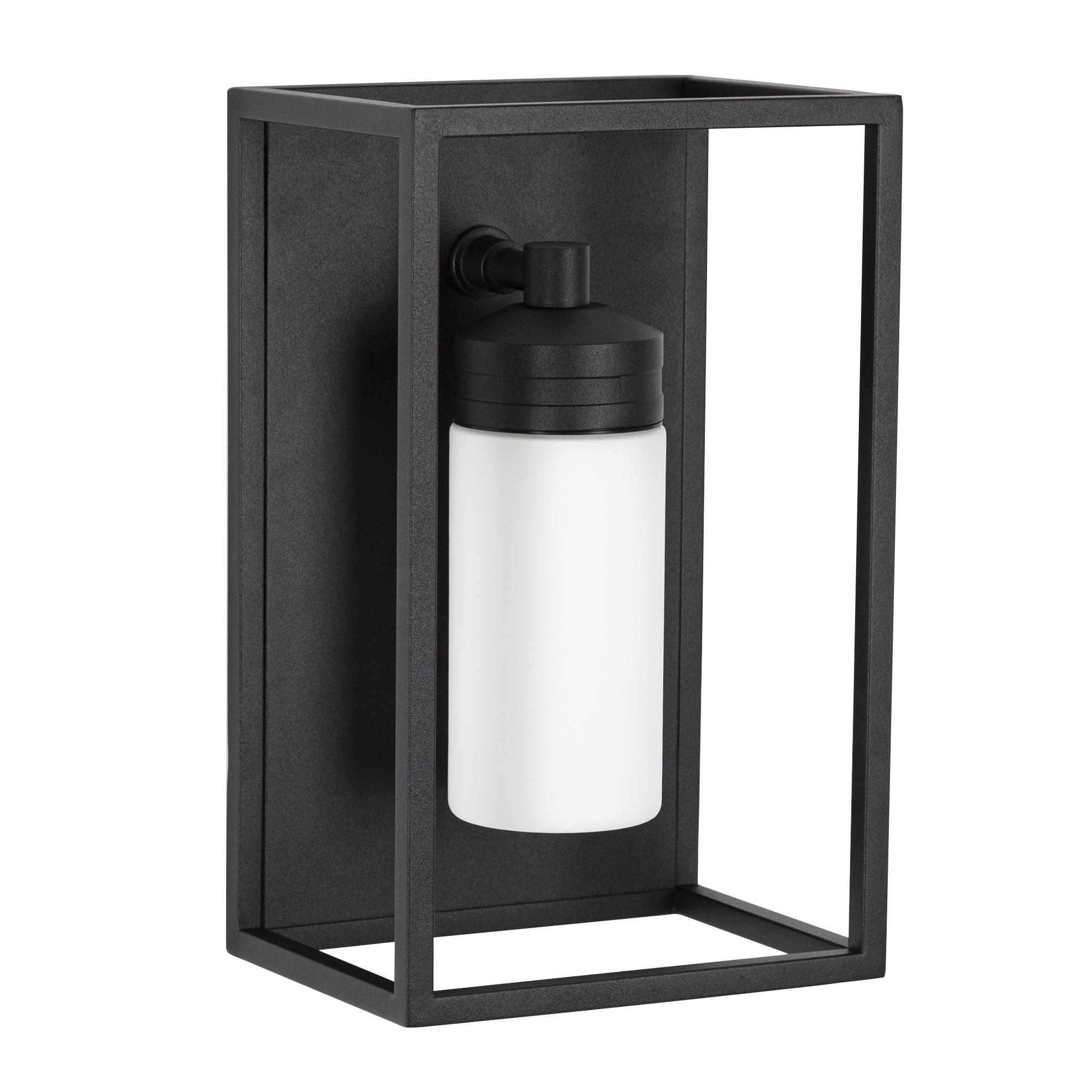 Hudson buitenlamp melk glas