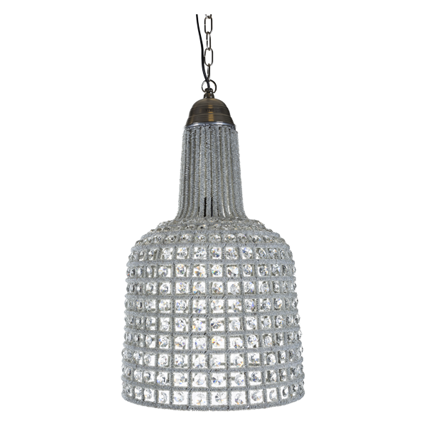 PTMD thrilling glass lamp long wide