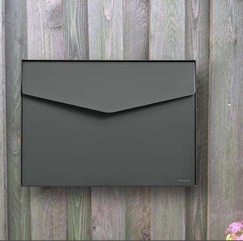 Brievenbus Letter 111 Grijs