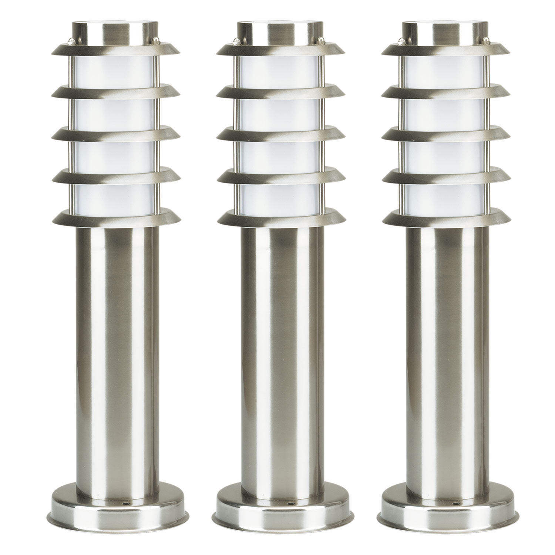 Soll 3 RVS Tuinlamp set van 3