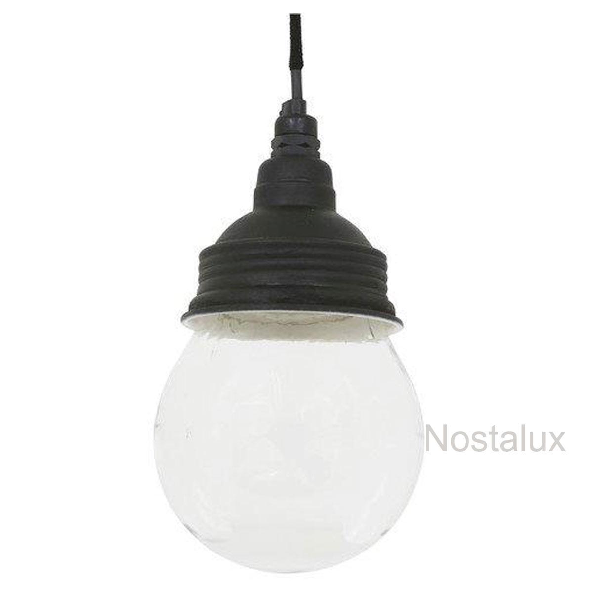 Nostaluce Vidro Hanglamp Zwart