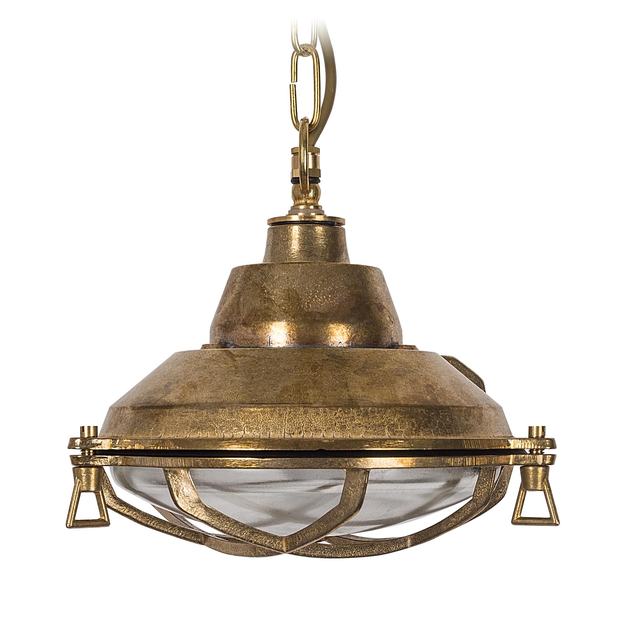 Dover kettinglamp Brons