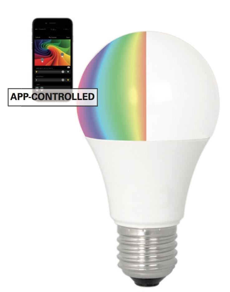 LED Kleurenbol E27 Bluetooth