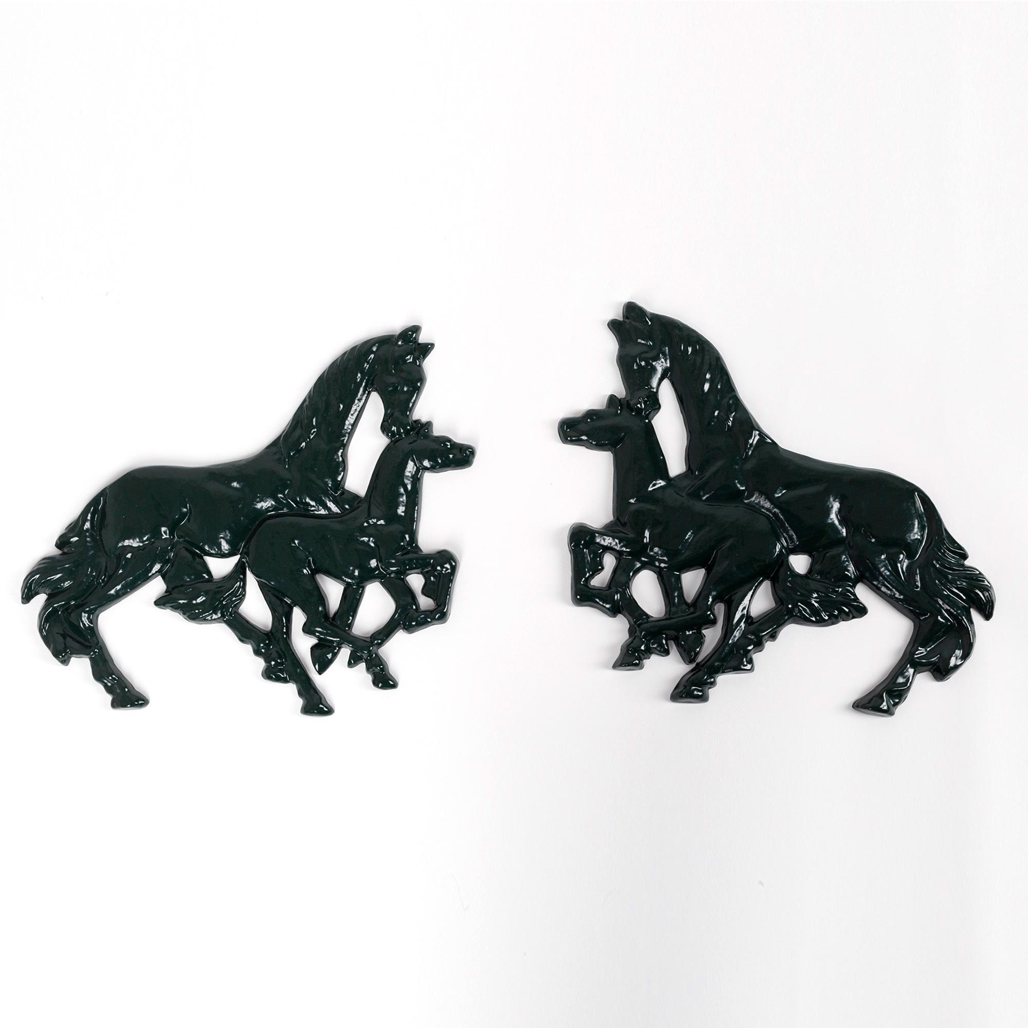 Set paarden ornamenten